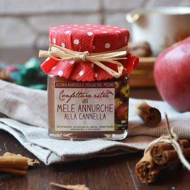 Confettura extra di mele annurche alla cannella