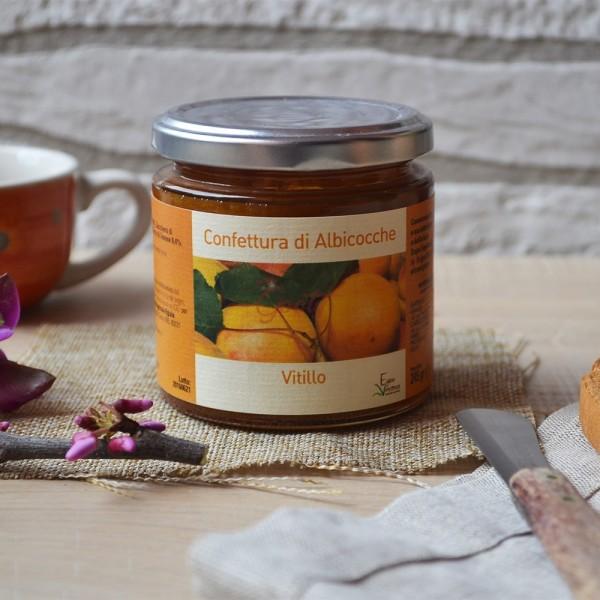 """Confettura di albicocca vesuviana """"Vitillo"""""""