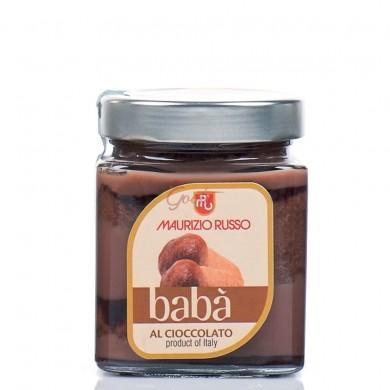 """Babà con crema al cioccolato """"Lei"""""""