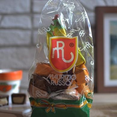 Mix di cioccolatini ripieni di crema al limoncello, mandarino e rum
