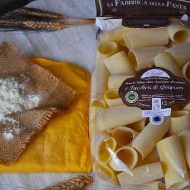 "Pasta di Gragnano ""Paccheri Rigati"" I.G.P."