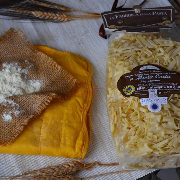 """Pasta di Gragnano """"Mista corta"""" I.G.P."""
