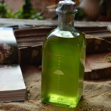 "Bottle of Wild Fennel Liqueur ""Monna"""