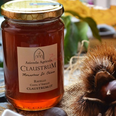 Organic chestnut honey of Amalfi Coast