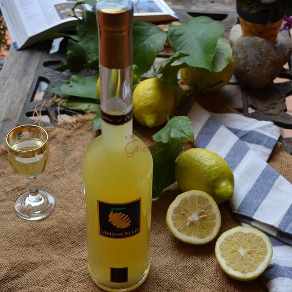 Limoncello di limoni I.G.P. della Costiera amalfitana