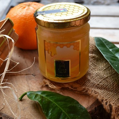 Orange honey of Amalfi coast