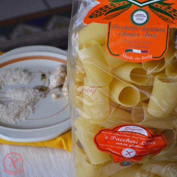"Pasta di Gragnano Senza Glutine ""Paccheri lisci senza glutine"" I.G.P."