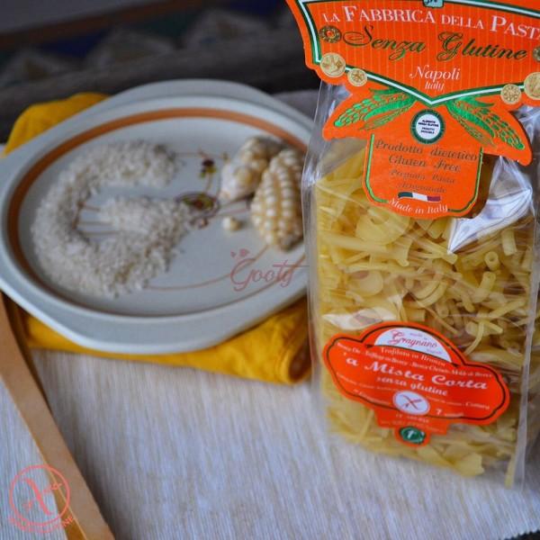 """Pasta di Gragnano """"Mista corta senza glutine"""" I.G.P."""