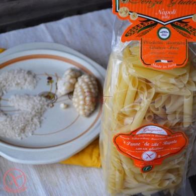"Pasta di Gragnano Gluten Free ""Penne de zite rigate gluten free"" I.G.P."