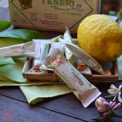 Torroncini morbido al limone