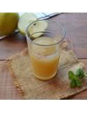 Succo e polpa di mele limoncelle