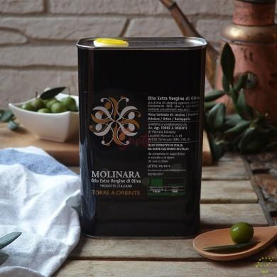 """Olio extravergine di oliva del beneventano """"Molinara"""" Biologico"""