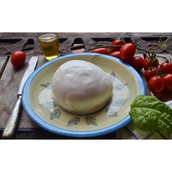 Mozzarella di bufala campana D.O.P. Biologica